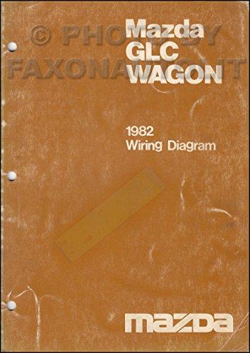1982 Mazda GLC Wagon Wiring Diagram Manual Original ()