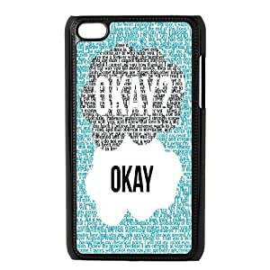 Okay?, The Fault in Our Stars- John Green Hard phone Case for Samsung Case For Ipod Touch 4th XRF032010