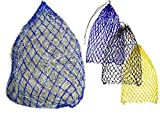 """Derby Originals 42"""" Hot to Trot Slow Feed Soft Mesh Poly Rope Hanging Hay Net with 2x2"""" Holes"""