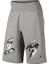 AJ VIII Fleece Men's Shorts Dark Grey Heather/Black 706730-063