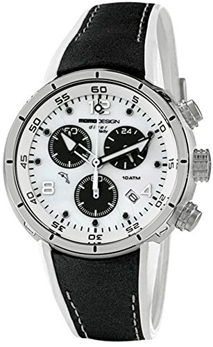 Momo Design Diver Pro Chrono Lady Quartz watch, Stainless Steel 316L