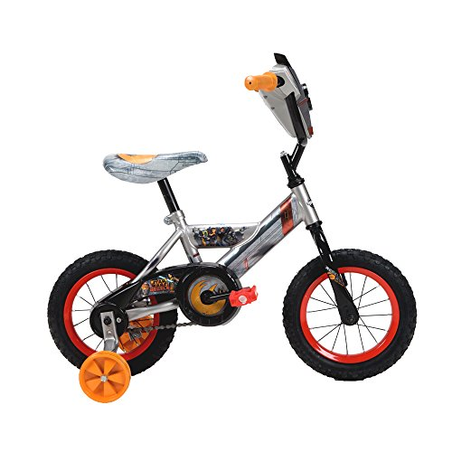 031e570d8e2e7 12   Huffy Star Wars Rebels Boys  Bike Grey Orange - Import It All