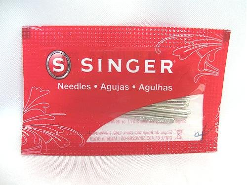 Desk Dave's ID: 2020-14. 20 New Singer Needles, Style 2020, Size 90/14 (Medium), Compatible w/Singer Featherweight 221/222 Sewing Machines, Others Below:
