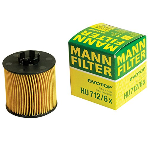 MANN OIL FILTER HU712/6x VW Cross POLO Lavida AUDI A3 (Vw Polo Air Filter)