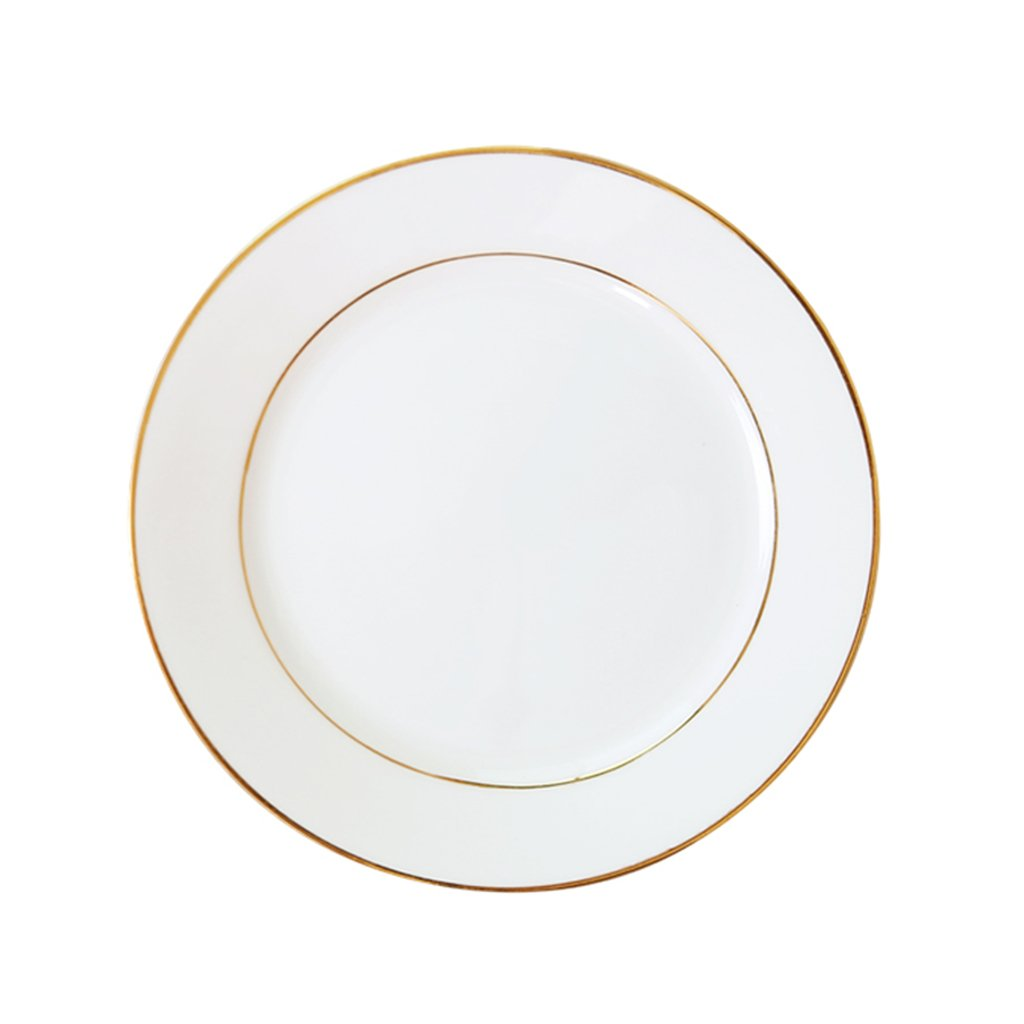 Kitchen & Bar Sinks Kitchen Sinks Phnom Penh breakfast plate round plate creative tableware household plates bone china dishes European bone china plate ceramic steak plate Single Bowl ( Size : A )