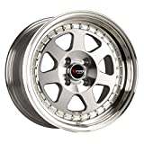 Drag Wheels DR-27 15x7/ 4x100 et10 Full Machined Face rims