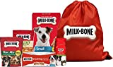 Milk-Bone Small Breed Dog Treat Bag, Variety Pack of 5, (Brushing Chews Dental Treat, Good Morning Vitamin Dog Treat, Healthy Favorites Chicken Dog Treat, Trail Mix Dog Treats, Original Dog Biscuits)