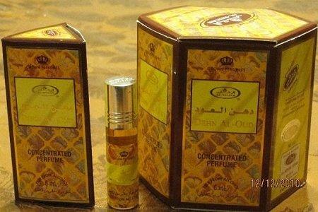 Price comparison product image Dehn Al-Oud - Perfume Oil by Al-Rehab (6ml) - 6 Pack