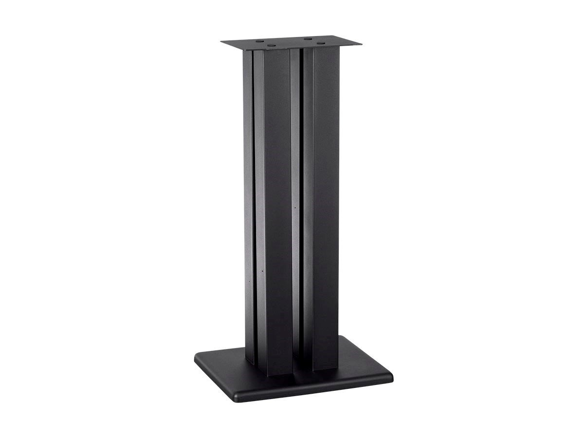 Monolith 28 Inch Speaker Stand (Each) - Black | Supports 100 lbs, Adjustable Spikes, Compatible Bose, Polk, Sony, Yamaha, Pioneer Others 131263