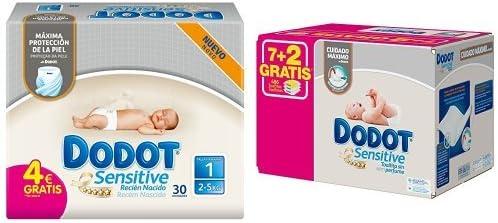 Dodot - Pack Sensitive - 30 Pañales Para Recién Nacido + 486 ...