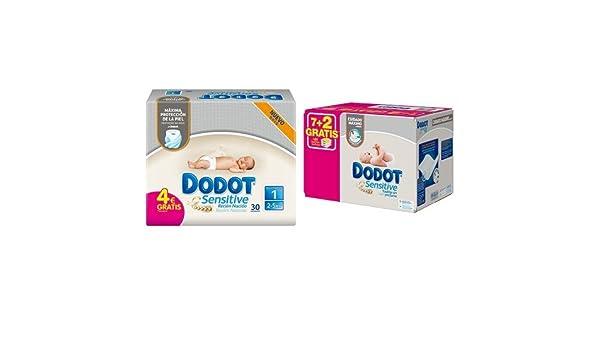 Dodot - Pack Sensitive - 30 Pañales Para Recién Nacido + 486 Toallitas: Amazon.es: Salud y cuidado personal