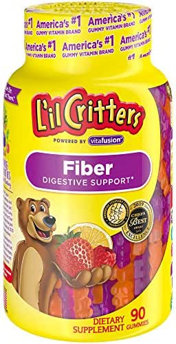 L'il Critters Kids Fiber Gummy Bears Supplement, 90 Count