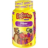 Health & Personal Care : L'il Critters Kids Fiber Gummy Bears Supplement, 90 Count
