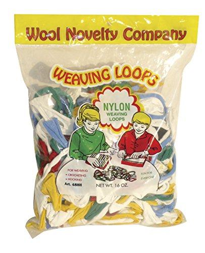 (Wool Novelty 488 Weaving Loops, Multi, 16 oz. Size, 14