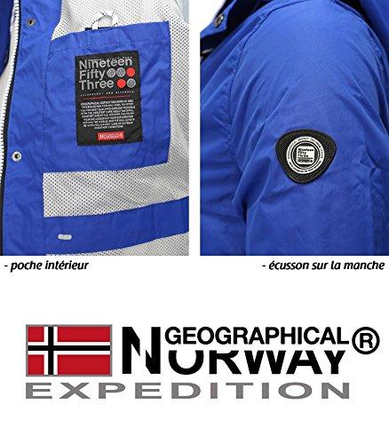 Norway Artichow Veste Bleu Geographical Saison Mi 18qwzx8S4