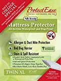 ProtectEase Allergy, Waterproof Mattress & Pillow Protector COMBO PACKBack To College Special (Twin XL)
