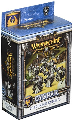 Privateer Press Warmachine – Cygnar Ally Precursor Knights Unit Box Model Kit
