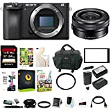 Sony a6500 Mirrorless ILC Camera w/ 16-50mm f/3.5-5.6 Zoom Lens Bundle