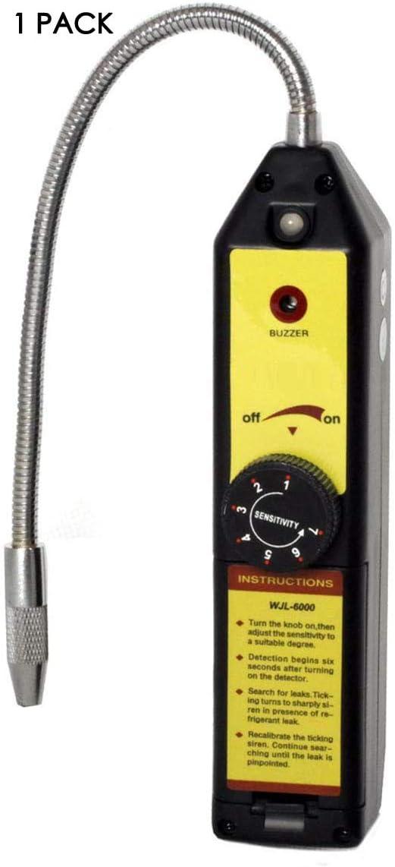 Chakeea WJL-6000 Refrigerant HVAC Freon Halogen Leak Detector R22 R410A R134A R1234YF CFCs HCFCs HFCs