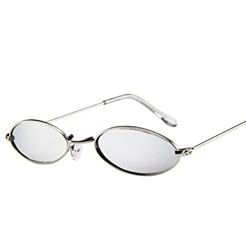 dd0b26ba4c Image Unavailable. Image not available for. Color  Retro Small Metal Frame  Sunglasses