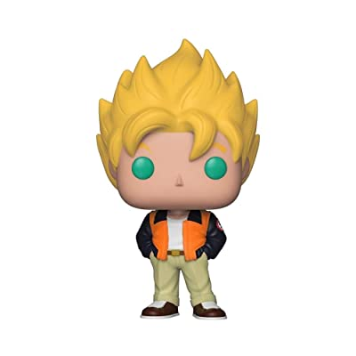 Funko Pop! Animation: Dragon Ball Z - Goku (Casual) Toy, Standard, Multicolor: Toys & Games