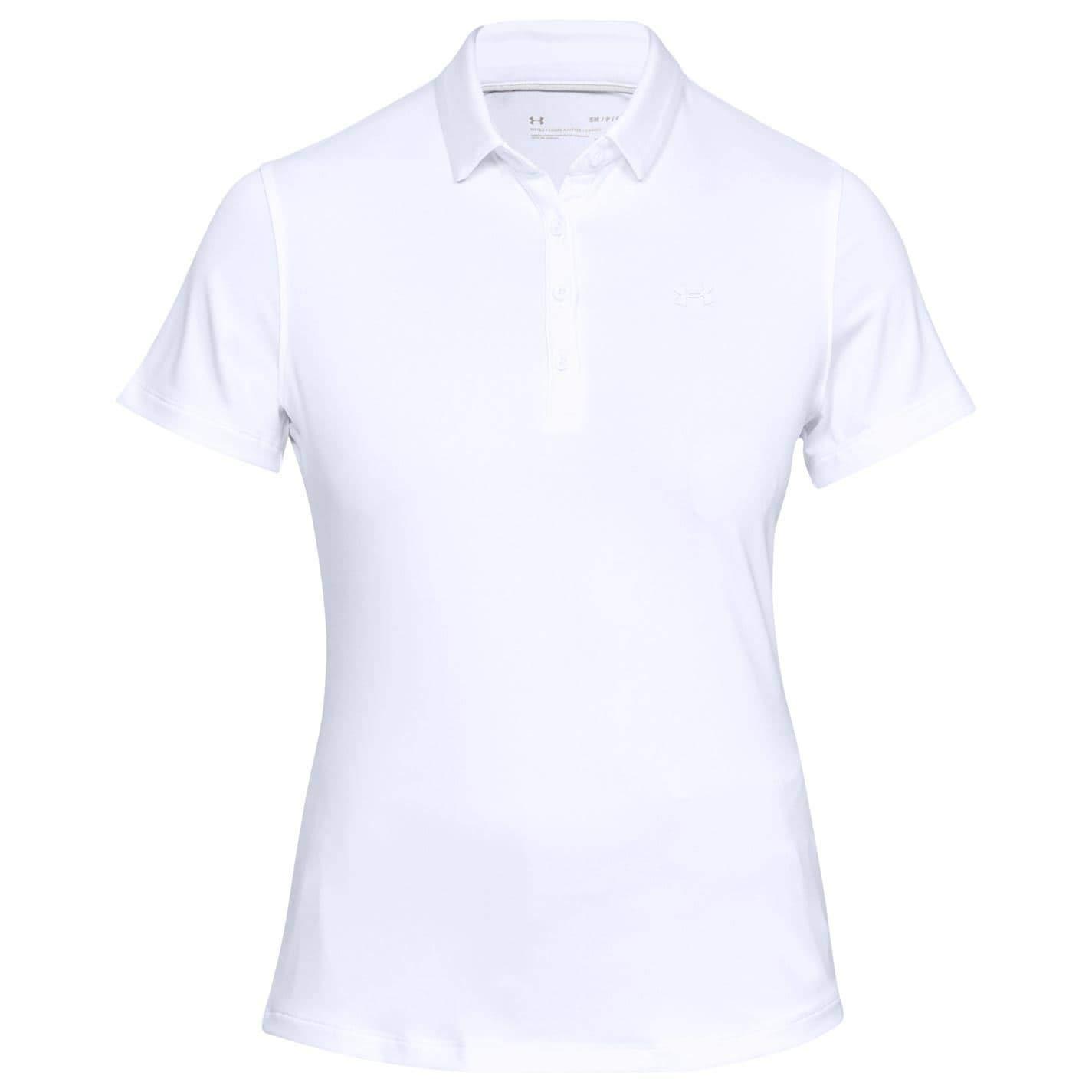 Under Armour Zinger Short Sleeve Polo - Polo Mujer: Amazon.es ...