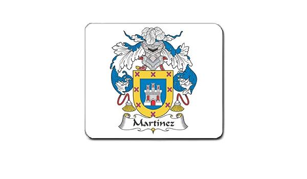 Amazon Com Martinez Family Crest Coat Of Arms Mouse Pad Electronics
