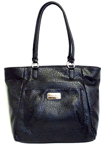 Bandolino Super Large Tote (Black), Bags Central