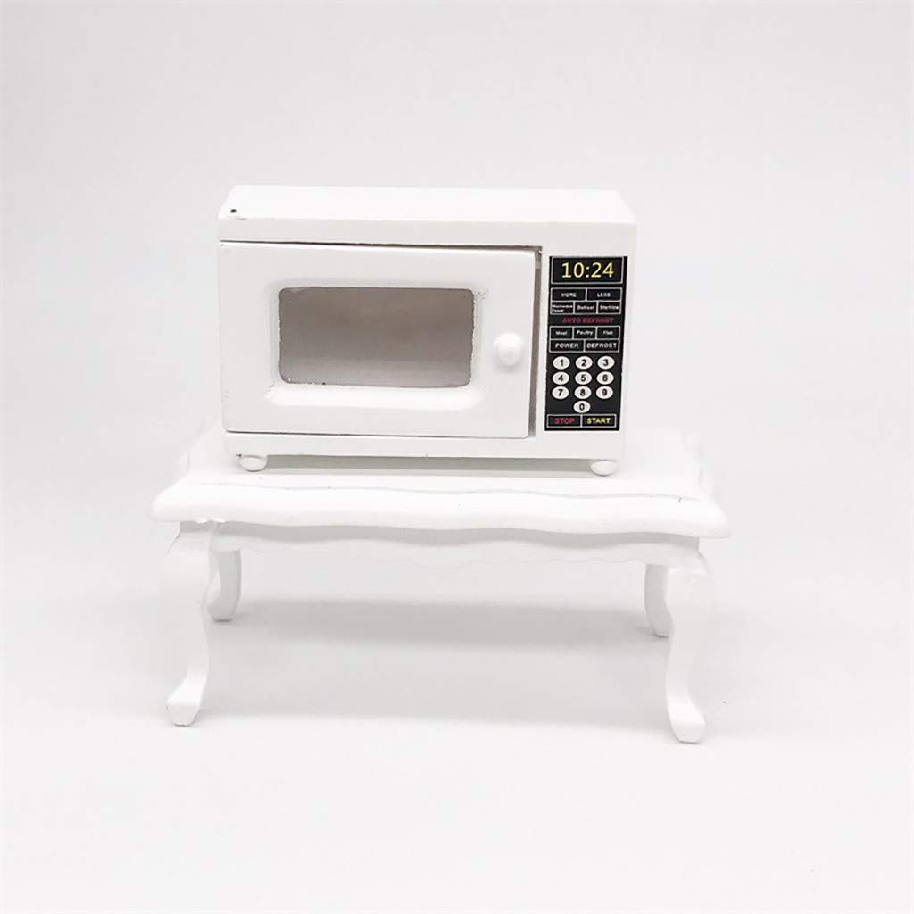FiedFikt Mini Horno microondas de Cocina 1:12 casa de ...