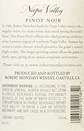 2014 Robert Mondavi Winery Pinot Noir Carneros Napa Valley 750 mL Wine