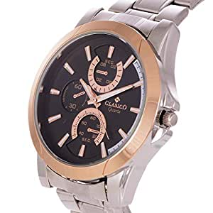 Clasico for Men Casual Watch MetaL Strap Round - SC5102G
