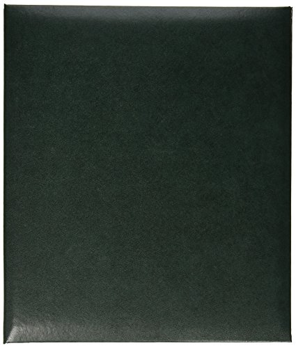 Pioneer Leatherette Post Bound Album, 8.5 by 11-Inch, - Top Leatherette