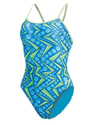 3b350fffac183 Dolfin Women's Ugllies String Back One Piece Swimsuit (Zenon, 38)
