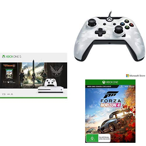 Microsoft Xbox One S 1TB Console+ PDP Wired Controller for