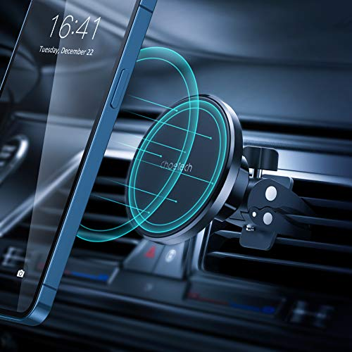 Magnetic Phone Car Mount for iPhone 12: Choetech Air Vent Car Phone Holder Mount, 360° Adjustable Phone Car Holder for Vehicles, Compatible with iPhone 12/12 Pro/12 Pro Max/12 Mini