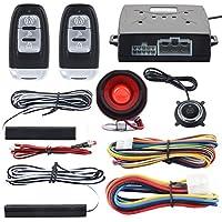 EASYGUARD EC003 Smart Key PKE Passive Keyless Entry Car Alarm System engine start button Remote Engine Start Universal Version