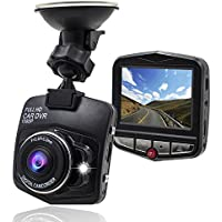 SMALL-EYE 1080P Dash Cam, Car DVR Car Dashboard Camera with 2.4 LCD 140 Wide Angle G-sensor Loop Recording Night Vision Car Video