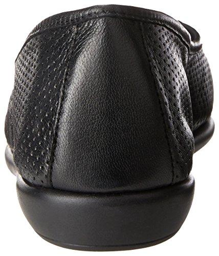 Black High Leather Ballet Flat Black US Aerosoles Bet 5 Women's M anfq6WC