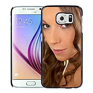 Unique Designed Cover Case For Samsung Galaxy S6 With Lizzie Ryan Girl Mobile Wallpaper Phone Case