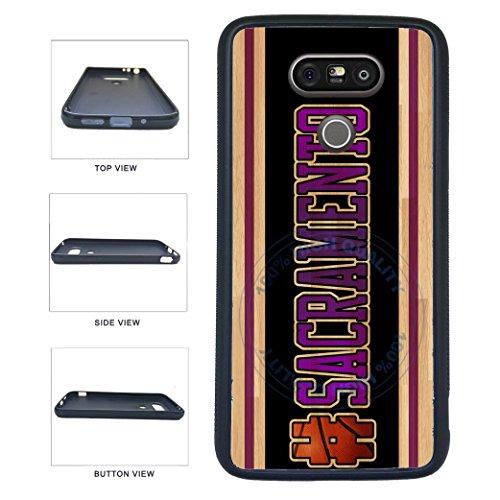 (BleuReign(TM) Basketball Team Hashtag Sacramento #Sacramento TPU RUBBER SILICONE Phone Case Back Cover For LG G5)