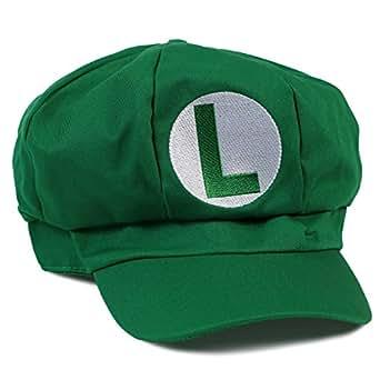 Landisun Costume Hat Anime Adult Unisex Cosplay Cap Green