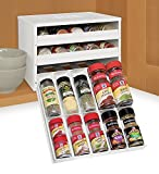 YouCopia Chef's Edition 30-bottle SpiceStack Spice Rack Organizer, White (Discontinued by the Manufacturer)
