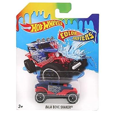 Hot Wheels 2016 Color Shifters Baja Bone Shaker Vehicle: Home & Kitchen