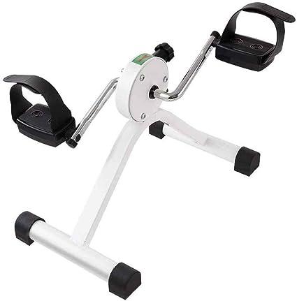 Mini Bicicleta Estatica Pedales para Mayores para Oficina//Hogar Ejercitadores de Pedales en Suministros Equipo M/édicos para Brazos /& Piernas Aparatos para Hacer Ejercicio Casa