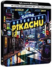 Pokémon-Détective Pikachu 4K Ultra HD Boîtier SteelBook Limité]