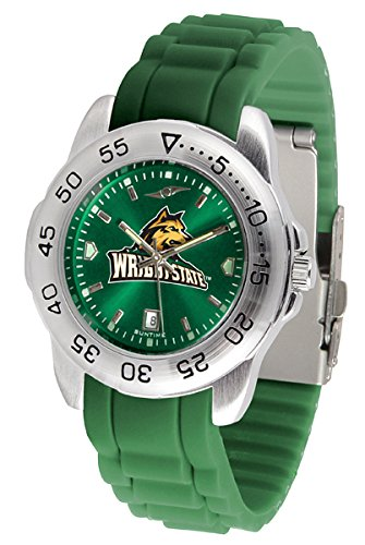 New Linkswalker Mens Wright State Raiders Sport Ac Anochrome Watch