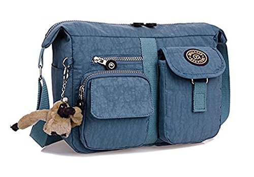 grey Canvas Women's Casual Shoulder Bag Bronze TM Bluish Times wtq7P8p