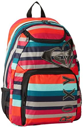 Roxy Juniors Shadow View Backpack, Cherry Red, One Size