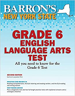 Descargar Epub Gratis Barron's New York State Grade 6 English Language Arts Test