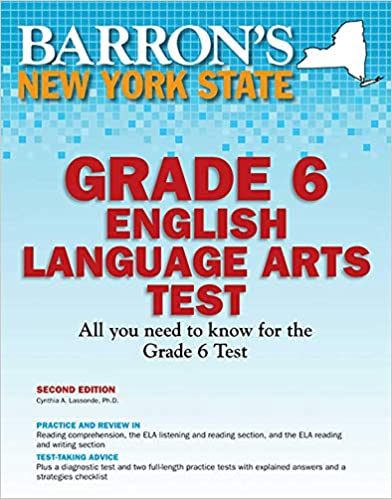 Barron's New York State Grade 6 English Language Arts Test (Barron's